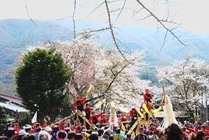 若宮区 小宮御柱祭が開催されました。